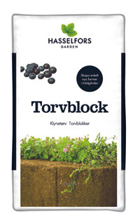 Torvblock 4-pack Hasselfors Pall